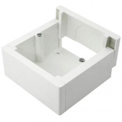 Caja Superficie para Mecanismos Enlazable Blanca