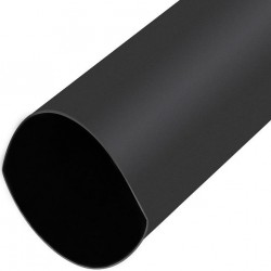Tubo Termorretráctil Con Adhesivo 16-5mm Negro