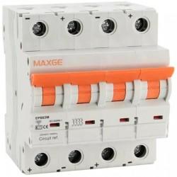 Magnetotérmico Maxge EPBE63M 4P 40A