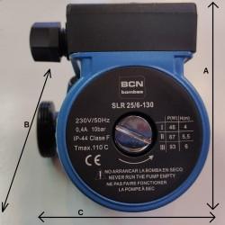 Bomba Circuladora BCN SLR 25/6-130  Solar