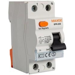 Diferencial Maxge EPR2CE 2P 63A 30mA