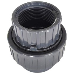 Unión 3 Piezas PVC Presión 32 - Hembra 1