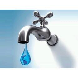 Punto de agua fría/caliente inst  con saneamiento