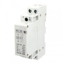 Contactor modular 2 polos 20 amperios