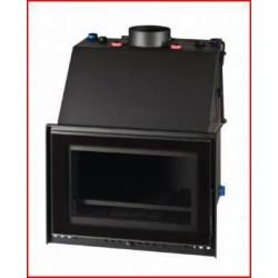 Estufa insertable Hidro Vitrus AC Metlor  26 7 kw