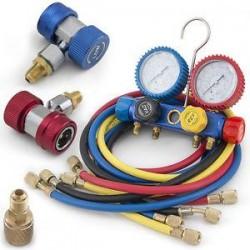 Manómetro Analizador C/5 R410A R407C R22 Y R134A