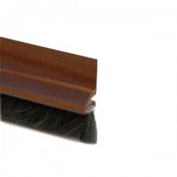 Burlete bajo puerta pelo transp adesivo 100 cms