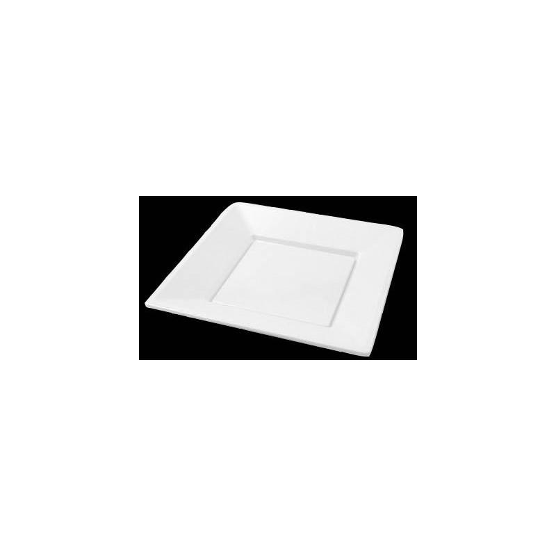 Plato cuadrado de plastico Dicaproduct PCB004