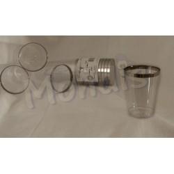 Vaso de agua plastico rigido Dicaproduct VTM001