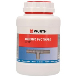 Bote Adhesivo PVC Presión Würth Tixpro 500 ml