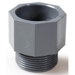Enlace PVC Presión Rosca Macho 50-2