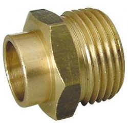 Enlace Rosca Macho 20/150 Soldar 12mm Gas
