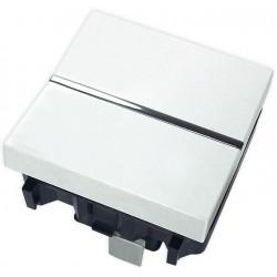 Interruptor Unipolar Ancho Niessen Zenit Blanco