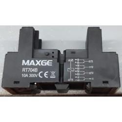 Base para Relé Miniatura Maxge RT704-B