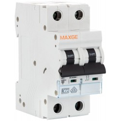 Magnetotérmico Maxge EPBE63M 2P 10A