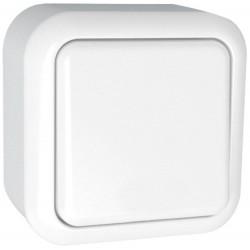 Interruptor Simple de Superficie Blanco