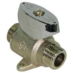 Válvula con Limitador de Caudal M-M 1/2  con patas