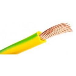 Cable Libre Halógenos 6 H07Z1-K Amar-Verde  Mt