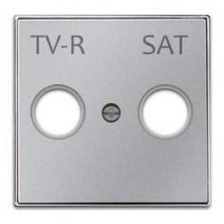 Tapa Base Toma TV Plata Niessen 8550 1