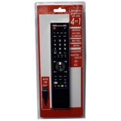 Mando a Distancia Universal Programable USB 4 en 1