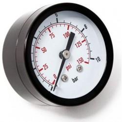 Manómetro Toma Posterior d 50 0-10 bar 1/4