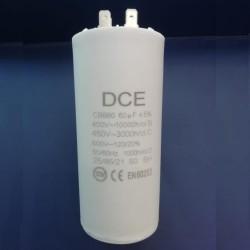 Condensador Trabajo Permanente 60 μF 450V