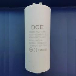 Condensador Trabajo Permanente 70 μF 450V