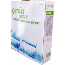 Kit Reemplazo Filtros para Genius Compact
