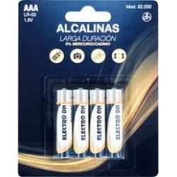 Pila Alcalina LR-3 / AAA  Pack 4