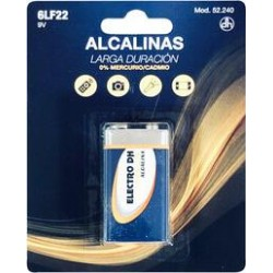 Pila Alcalina 6LF22 9V