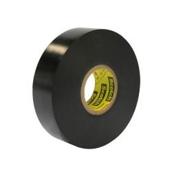 Cinta Aislante PVC Negra 19mm x 25 m