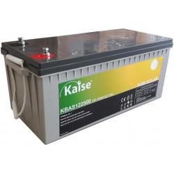 Batería Kaise Solar AGM 250Ah 12V