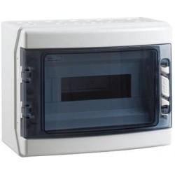 Caja Superficie Estanca 12 Módulos IP-65 Gris