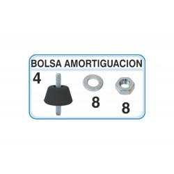 BOLSA BASICA AMORTIGUACION TIPO B5  CON 4 ANTIVIBR