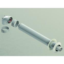 Kit Conducto Coaxial 60/100 Calentad  Estanco Sime